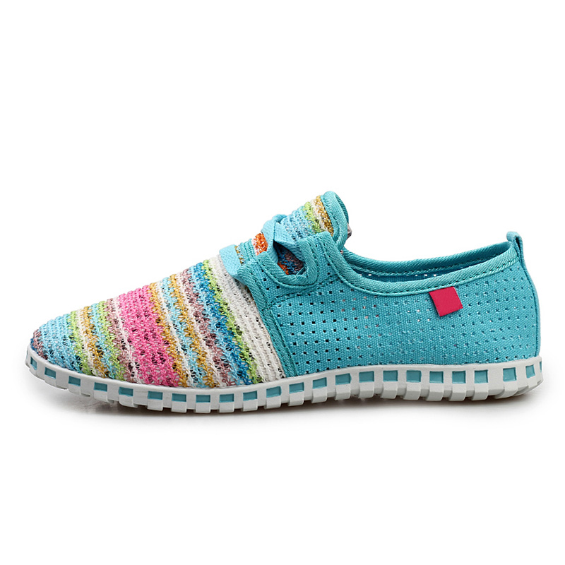 Spring Summer Shoes Women Sneakers Fashion Mesh Shoes Colorful Breathable Women's Flats Brand Shoes Ladies Sneakers ace 1